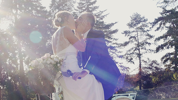 Cameraman videaste video lyon mariage couple amour nature