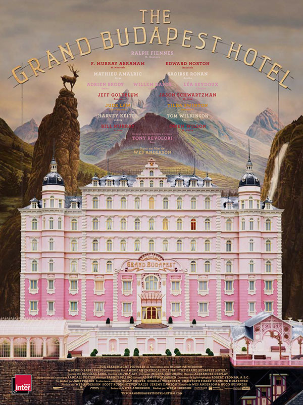 Cameraman videaste video lyon mariage famille the grand budapest hotel