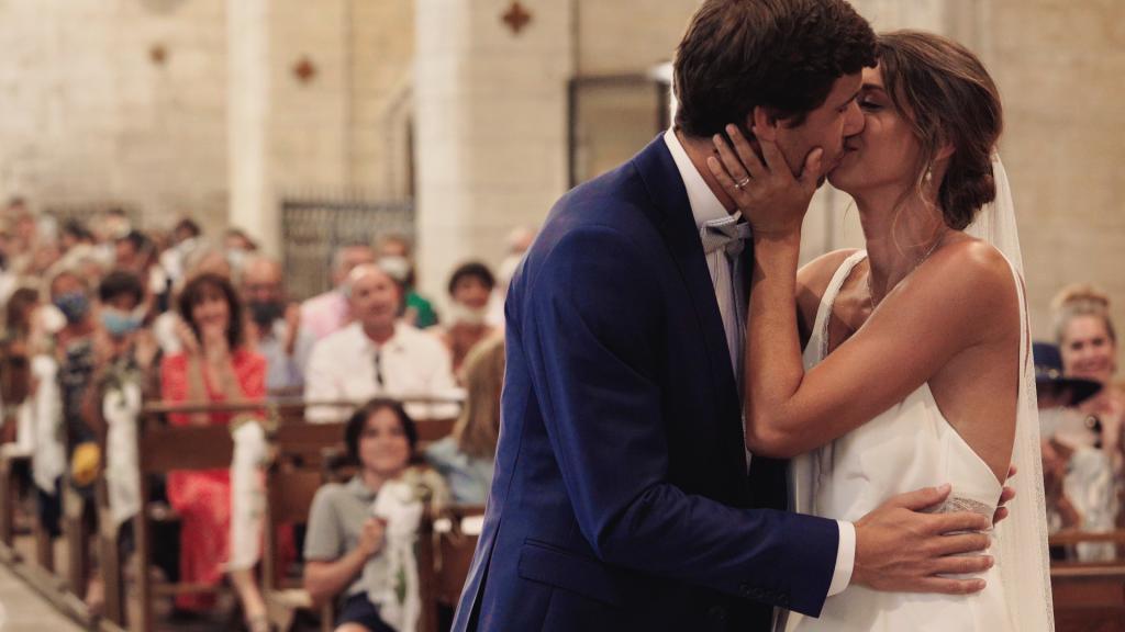 Cameraman videaste video lyon mariage pauline et remi eglise